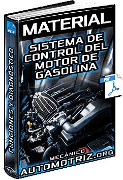Material: Sistema de Control del Motor de Gasolina – Sistema, EFI, ESA, ISC y Diagnóstico