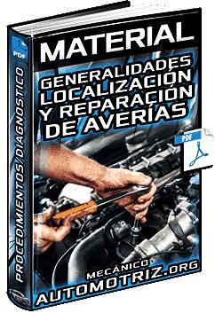 Material: Generalidades para la Localización y Reparación de Averías – Procedimientos