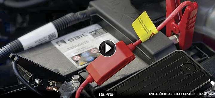 Vídeo de Batería Portátil para Arrancar el Coche - Utilizacion y Funcionamiento